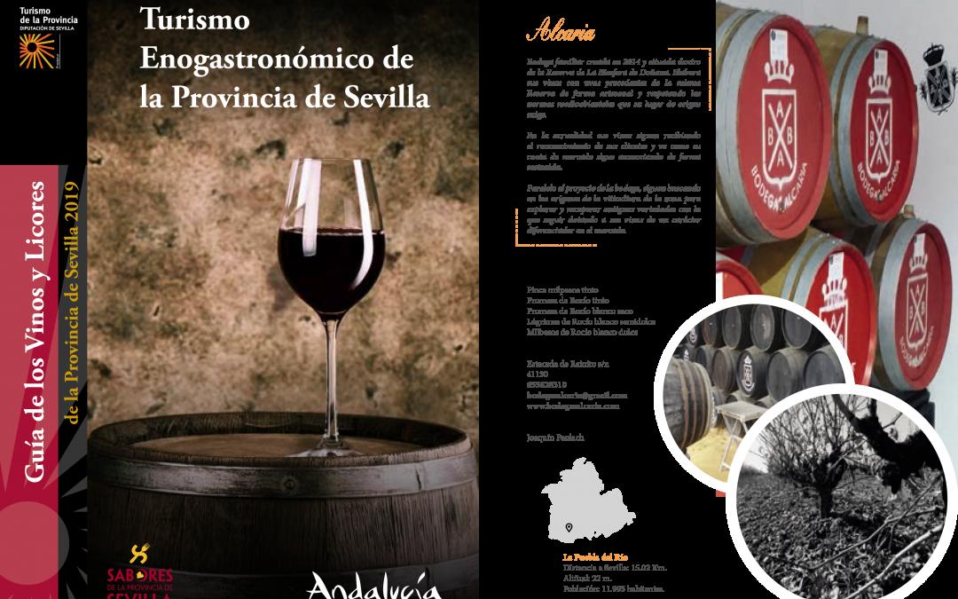 Bodegas Alcaria en la Guía de Los Vinos de Sevilla 2019